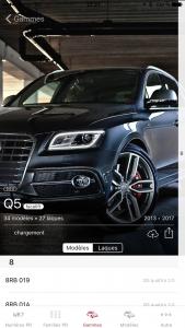 MACO 4.2 détail gamme Audi Q5