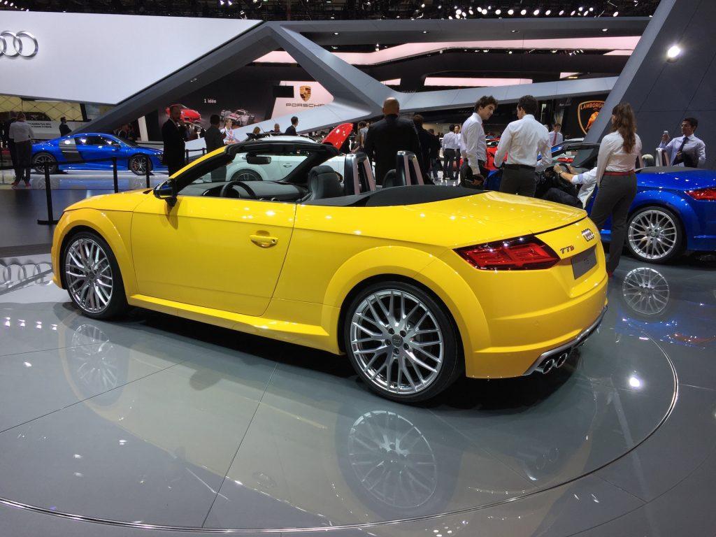 Audi TTS Roadster Mk3